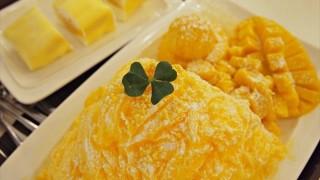 【韓国】美味しいフルーツを贅沢に!生マンゴーがたっぷりの冷たいデザート