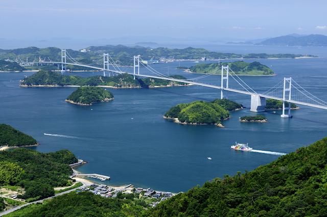 自転車で海峡横断!絶景しまなみ海道と寄り道グルメ
