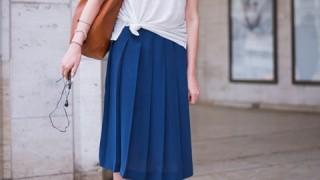 ニューヨーカーに学ぶ!夏の白×ブルーの着こなしかた