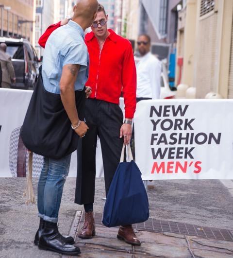 【NY現地取材】今、お洒落でなきゃ男じゃない!NYメンズ・ファッションウィーク