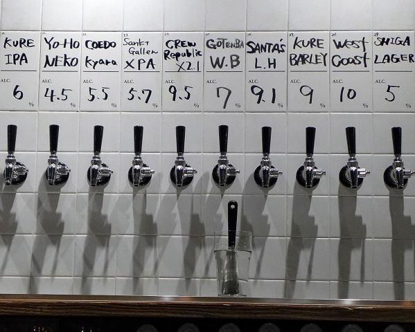 【都内】通いつめて全制覇したい、日替わりの地ビールたち。