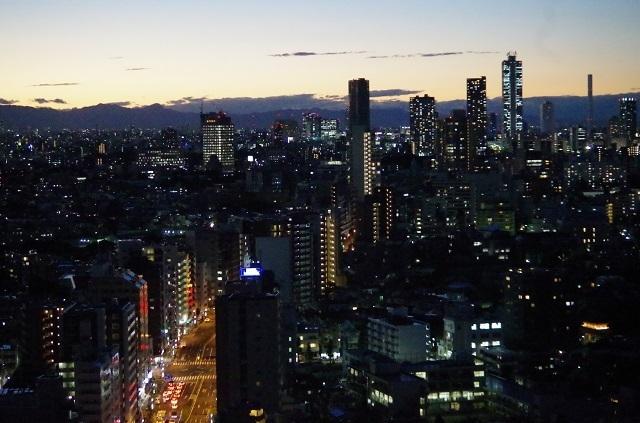 【後楽園】富士山と新宿も一望できる!あのスポットで夜景ハンティング