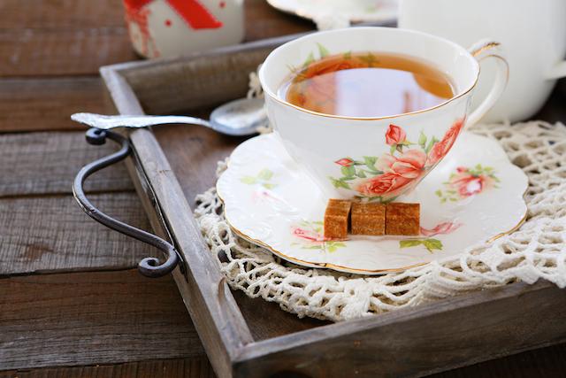紅茶は朝から飲むと一日中シャキッとしていられるって知ってた?