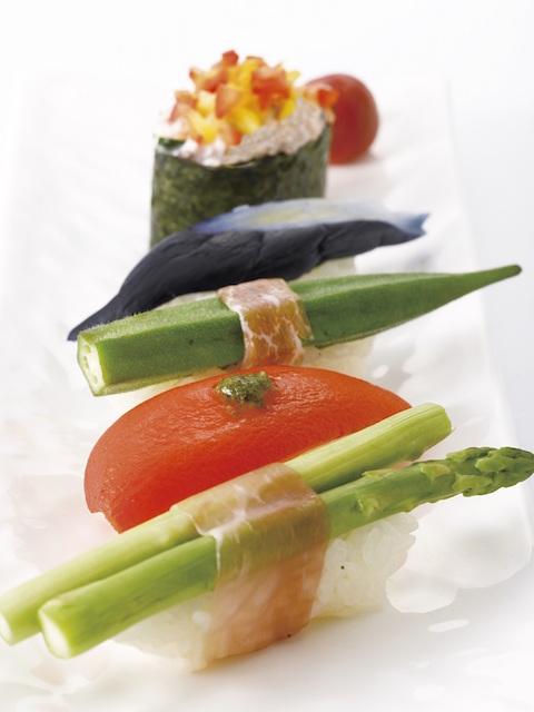 カッパ寿司が進化してカフェのように!可愛すぎるサラダ鮨