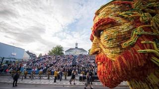 大きさは家以上!ゴッホ誕生の地で開催されるフラワーアートフェス