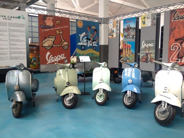 オードリーも乗ったあのスクーター「Vespa」の博物館