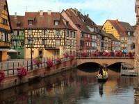 「ハウルの動く城」のモデルになった街といわれる、フランスのコルマール