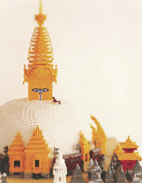 """【12月26日から】レゴで作った世界遺産がかわいすぎる!平和への願いをこめた""""PIECE OF PEACE""""の展覧会"""