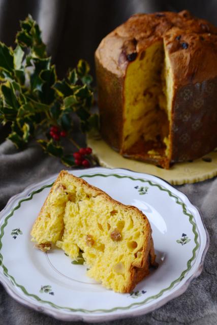 ふんわり、しっとり、香り高い、イタリアのクリスマス菓子「パネットーネ」