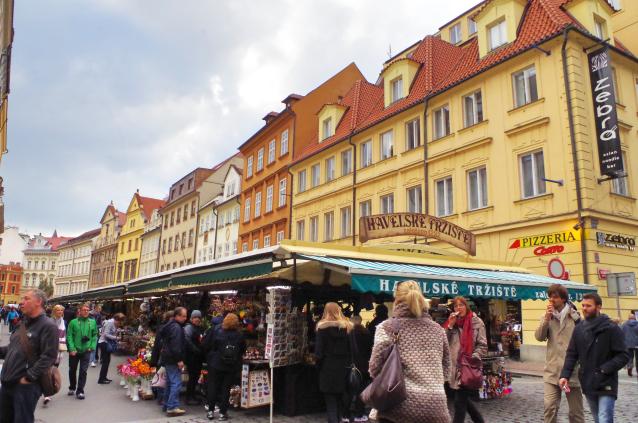 【プラハ】ばらまき土産に!安くて可愛いものだらけの「ハヴェルスカー市場」