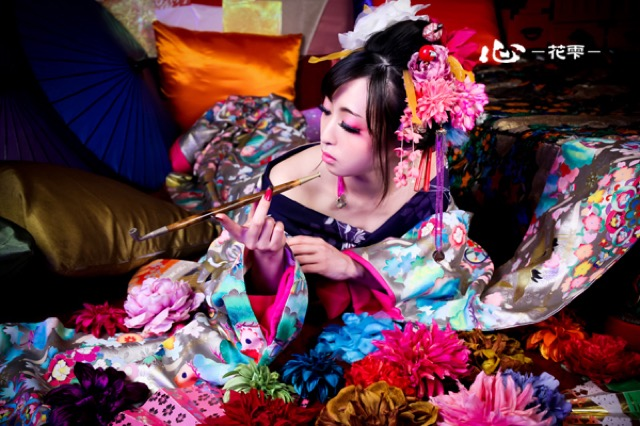 映画「さくらん」の世界!京都で人気の妖艶すぎる花魁体験