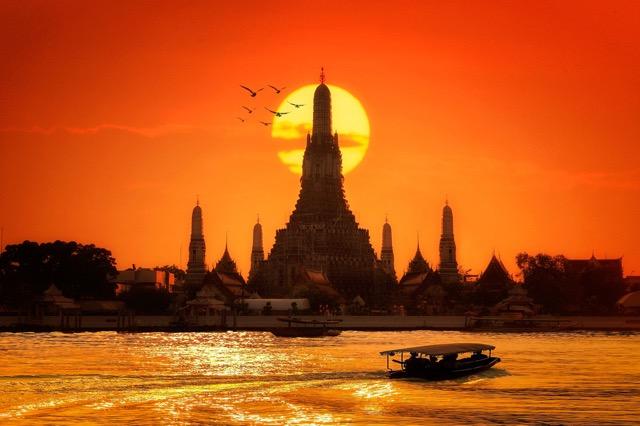 1/31まで!微笑みの国タイに行く、バンコク往復航空券をプレゼント