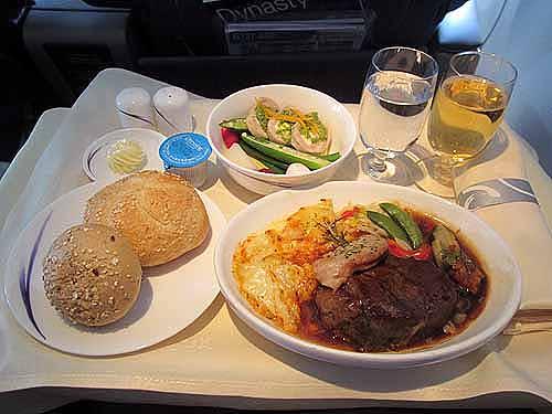何から何まで美味!チャイナエアライン「成田〜高雄」ビジネスクラスの機内食