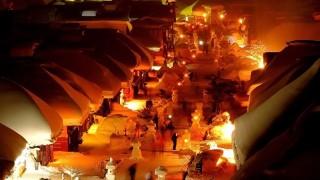 【1月下旬~2月上旬掲載希望】まるでメルヘンの世界!雪灯籠と冬花火に日本の美意識を感じる雪国のお祭り