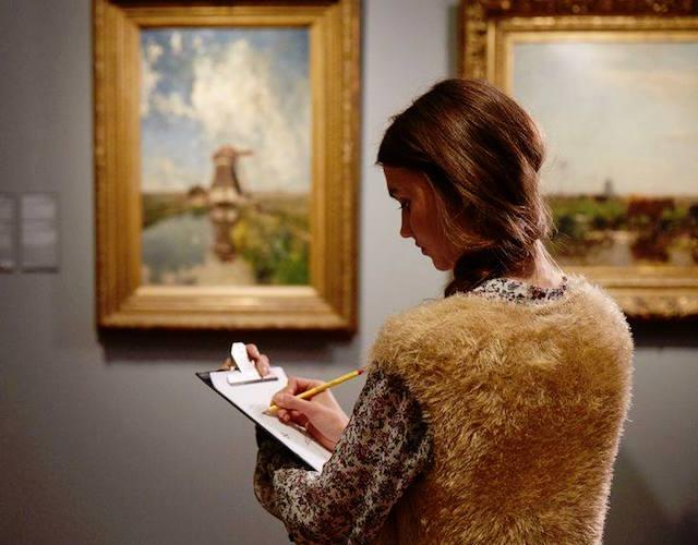 写真撮影はストップ!自分で描いて楽しむオランダの美術館