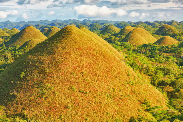 【フィリピン・ボホール島】爽快感抜群!空を飛ぶサイクリング