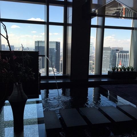 国内唯一の6つ星!マンダリンオリエンタルホテル37階で豪華なランチ