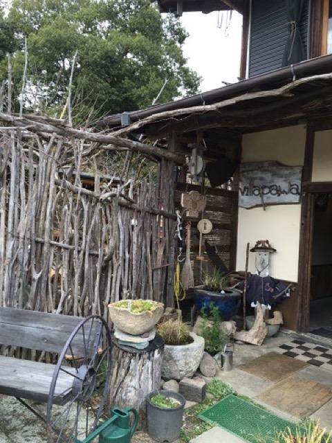 お庭の薪小屋で注文!?趣深い古民家で食べる絶品薪窯ピザ