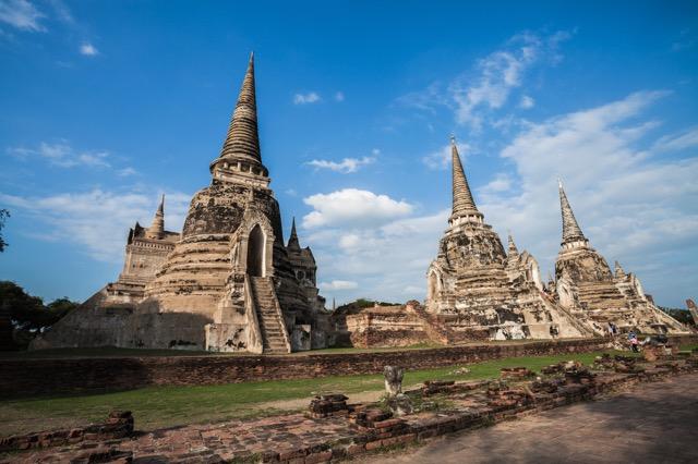 バンコクから日帰りもできちゃう!タイの世界遺産の古都アユタヤ