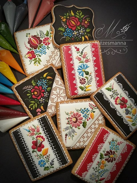 飾っておきたい!ハンガリーの女性菓子職人が生み出す芸術的なクッキー