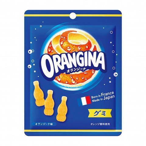 フランスで大人気の「オランジーナグミ」が国内で新登場!