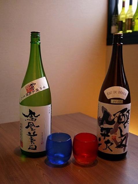 和食ビストロ「日本酒にするかワインにするか」でプレミアムな日本酒を堪能