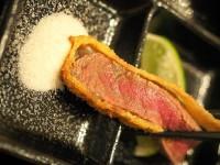 【大阪】とろける旨味!牛かつ専門店で日本三大和牛「近江牛」に舌鼓