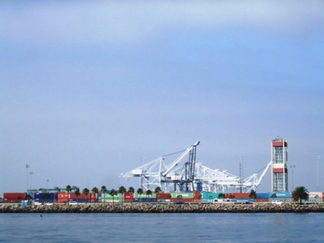 Port of Long Beach ツアー