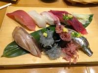 【静岡三島】ピカピカの生桜エビと生シラスの鮨