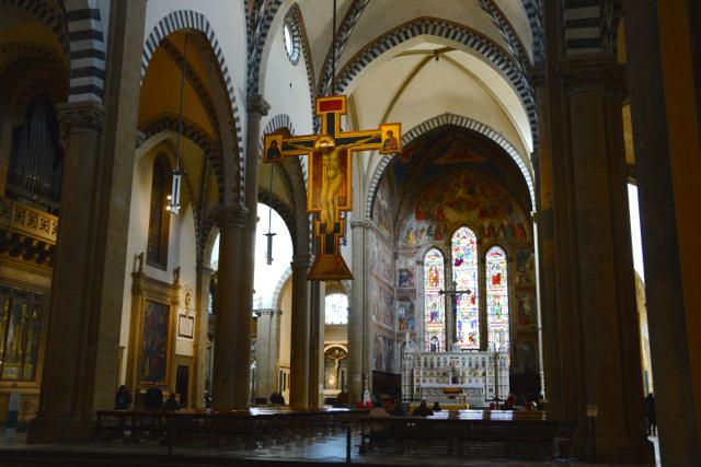 【秘密のフィレンツェ】サンタ・マリア・ノヴェッラ教会に掲げられた謎の物体