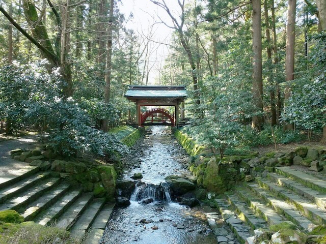 弥彦神社玉の橋
