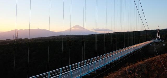 空を歩いているみたい。日本最長吊橋「三島スカイウォーク」で空中散歩