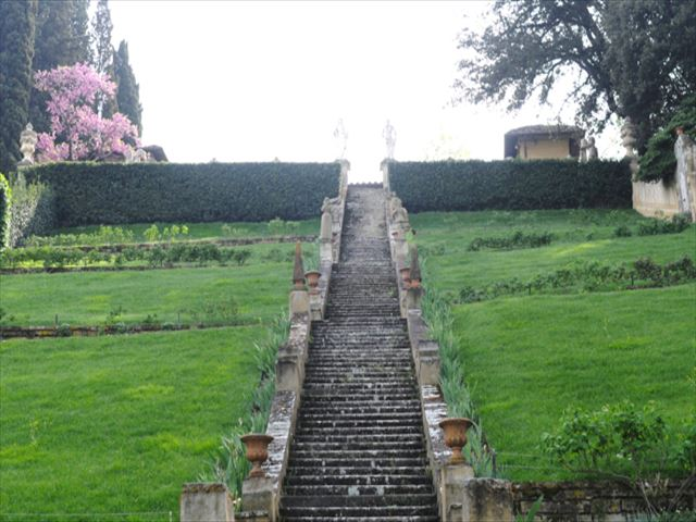 【フィレンツェ隠れスポット】眺めのいい庭「バルディーニ庭園」