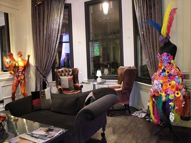 【連載】まるで現代アートミュージアム。ロンドンの素敵すぎるホテル