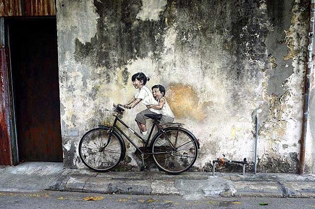 【ペナン島】ユネスコの世界遺産「ジョージタウン」でアートを楽しむ