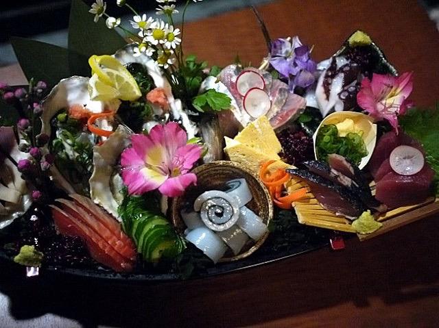 華やかなお料理にテンション上がる!獺祭の飲み比べもできる、蒲田「粋」へ