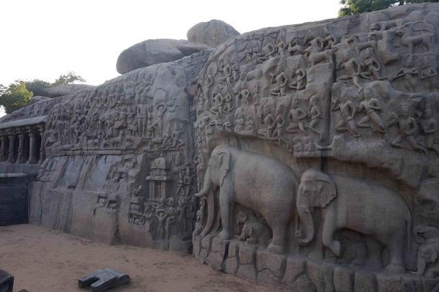 【インド】緻密な彫刻に注目。マハーバリプラムの世界遺産「ファイブラタ」