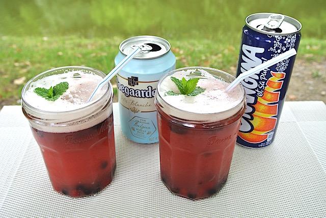 夏の爽やかドリンクレシピ【2】アウトドアで作りたい、大人味の「ビールパンチ」