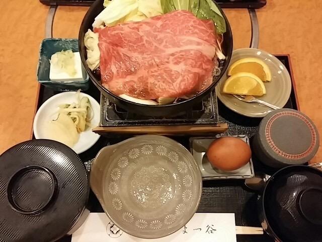 【日本橋】1500円以上の価値あり!すき焼き定食ランチ「よつ谷」