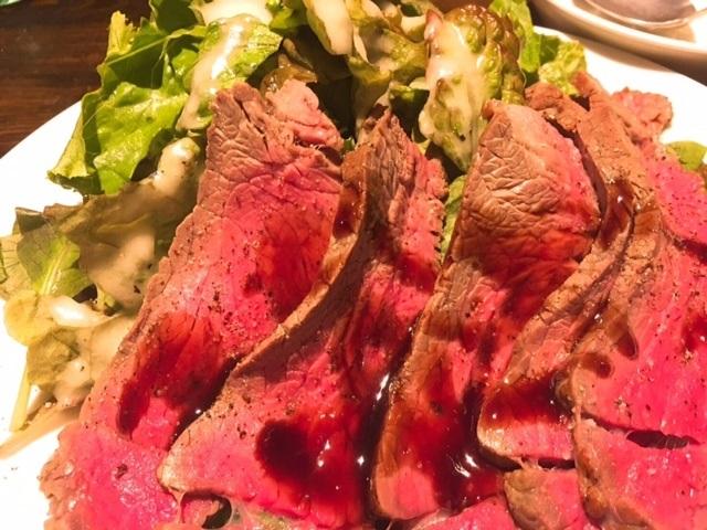 渋谷ワンコインランチは限定12食!極上厚切りローストビーフが500円