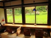 大人のためのまったり空間。初夏の岐阜を感じる合掌造りの喫茶店