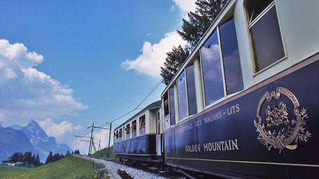 【スイス】期間限定のチョコレート列車が気になる