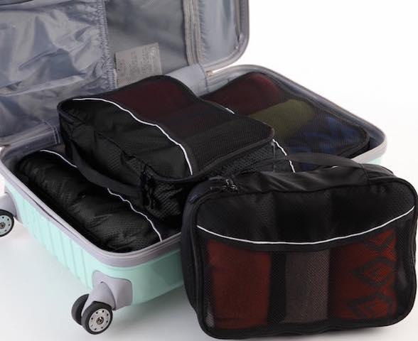 超身軽にトラベル! 手荷物用バッグに100アイテム入れる方法