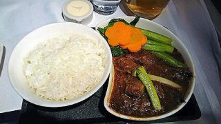 キャセイパシフィック航空機内食レポ「香港~ヨハネスブルグ」ビジネスクラス