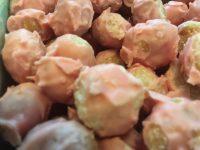 ハワイの数量限定土産!かわいいピンク色のチョコレート・マカダミアナッツ