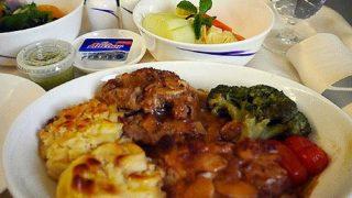 機内食レポートチャイナエアライン編「デンパサール~台北」ビジネスクラス