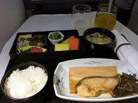 機内食レポート。全日空で行く「ロサンゼルス~羽田」ビジネスクラス
