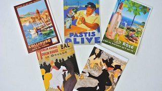 お土産にも! フランスの可愛くて個性的なポストカードたち