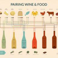 今日の夕食はどのワイン? 食材と好相性のワインが一目でわかるインフォグラフィクス