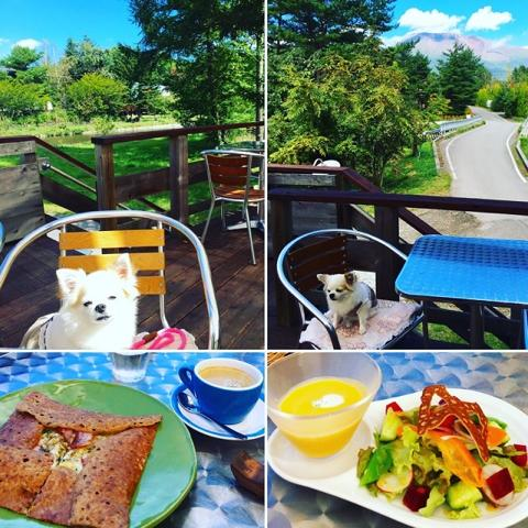 【軽井沢おすすめレストラン】日本で一番おいしいガレットと天空のカフェ